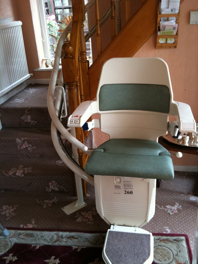 Great British Stairlifts Curved Stannah 260