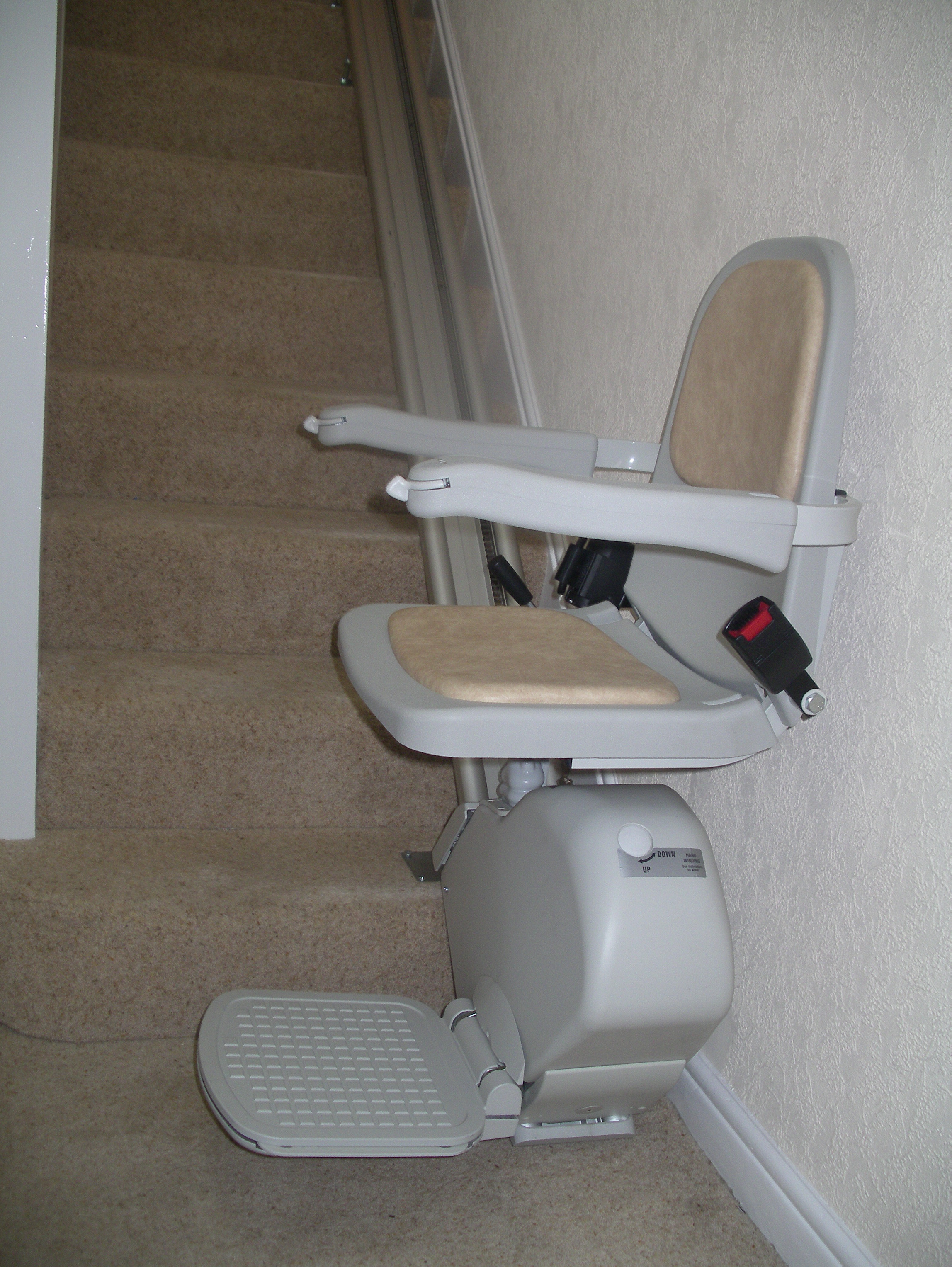 Great British Stairlifts Straight Acorn Stairlift Wirral